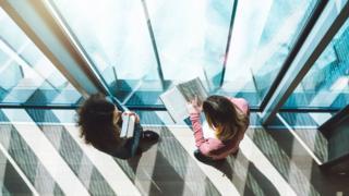 Students in corridor