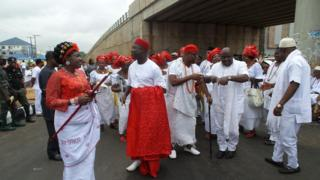 Pipo wey dress for cultural cloth for Delta State for August 2016