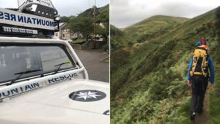 Ochils mountain rescue