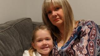 Andrea Bates with daughter Eva