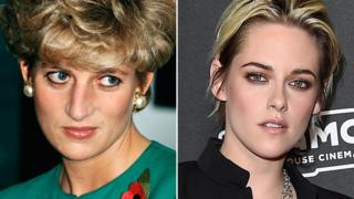 hollywood Princess Diana (left) and Kristen Stewart