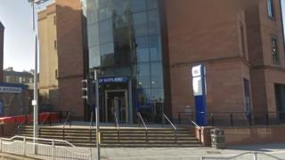 Bank of Scotland branch in West Marketgait, Dundee
