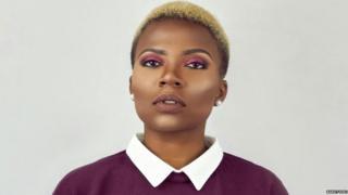 Cameroon blogger Bandy Kiki