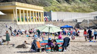 in_pictures Barry Island 14 September 2019