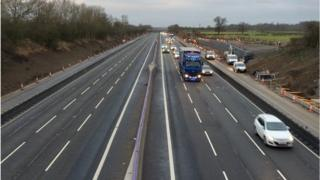 Body found on M1, Northamptonshire Police say