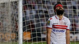 باسم مرسي مهاجم الزمالك