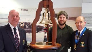 newfoundland escrt force bell on display