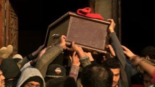 جنازة محمد عفروتو