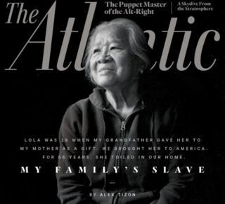 Imagen de Eudocia Pulido en la portada de The Atlantic