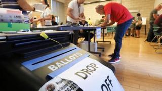 بسیاری از ایالتهای آمریکا رای زودهنگام و الکترونیکی را هم از چند روز پیش آغاز کردهاند
