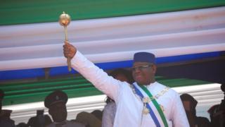 Sierra Leone President Maada Bio