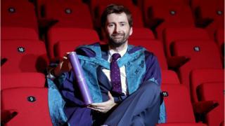 David Tennant, honorary doctorate