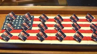 Trump slices on sale