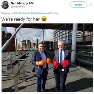 Neil McEvoy's tweet