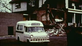 The Troubles: Rare footage of 1972 IRA attack on QUB unearthed