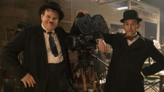 John C Reilly (left) and Steve Coogan as Laurel and Hardy