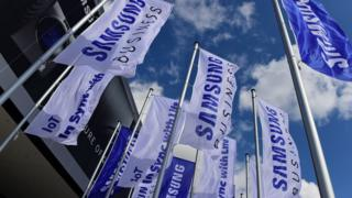 Samsung flags