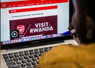 Urwanda rurisigura ku masezerano na Arsenal yo kugwamamaza