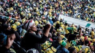 Memorial service of Winnie Madikizela-Mandela at the Orlando stadium in Soweto, South Africa.