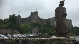 The King Henry VIII project near Pembroke Castle