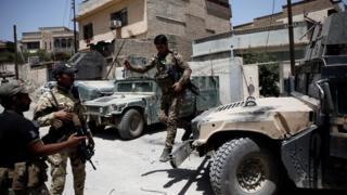 western Mosul, 27 May.