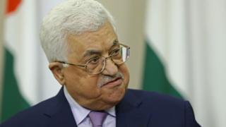 File image of Palestinian leader Mahmoud Abbas