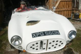 Neil Buxton's hand-built car