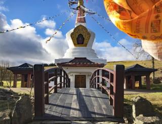 The Samye Ling Victory Stupa