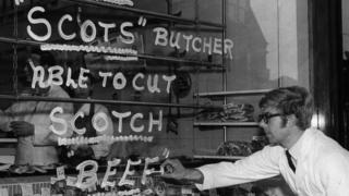 1969年的苏格兰牛肉店