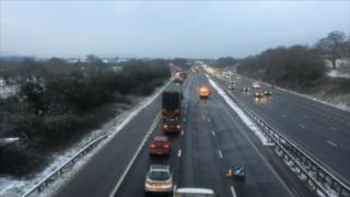 M5 southbound