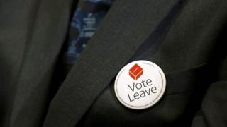 Vote Leave badge