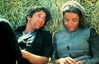A film still from Days of Heaven