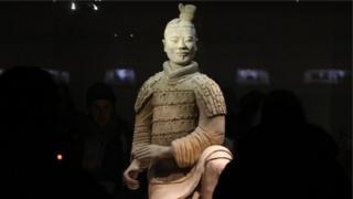 Trung Quốc, chiến binh Tần Thủy Hoàng