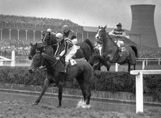 Grand National riders in 1954