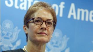 ماری یووانوویچ ۳۳ سال سابقه کار در دستگاه دیپلماسی آمریکا را دارد و سه بار به عنوان سفیر آمریکا کار کرده است