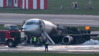 Літак після аварії