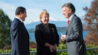 Presidentes da América do Sul