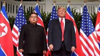 特朗普與金正恩會晤