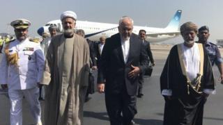 سفر ظریف به عمان