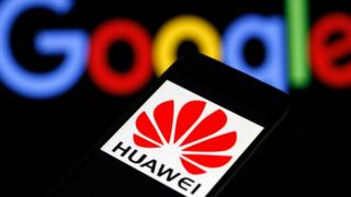 Huawei y Google.