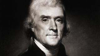 Retrato de Thomas Jefferson