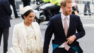 薩塞克斯公爵和夫人——哈里王子與梅根