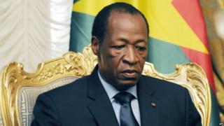 Ousted Burkina Faso leader, Blaise Compaore