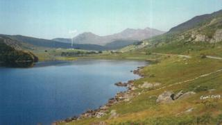 Llyn Mymbyr, Mehefin 1992.