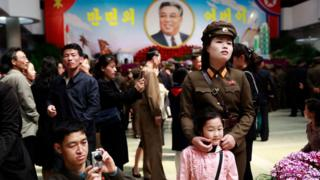 soldada na Coreia do Norte