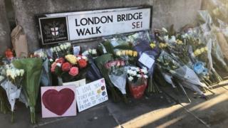 Tributes to victims of London Bridge attack