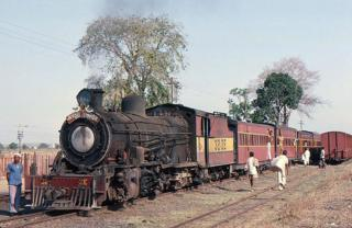 The Satpura Express, photographed in 1983