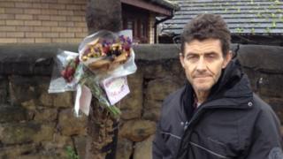 Homeless man Tony