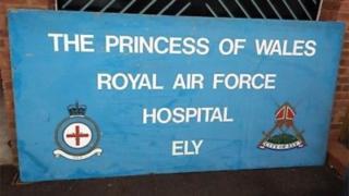 RAF sign