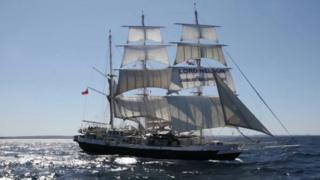 Lord Nelson at sea